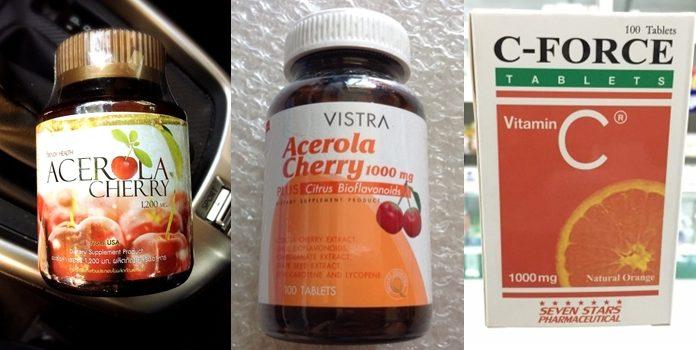 วิตามินซี 1000 mg ยี่ห้อไหนดี