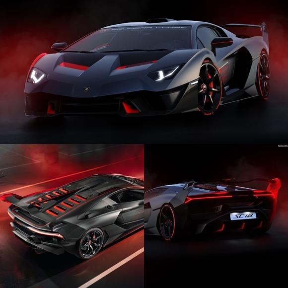 รถหรู Lamborghini SC18 (2019)