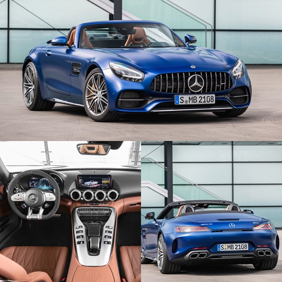 รถหรู Mercedes-Benz AMG GT C Roadster (2020)