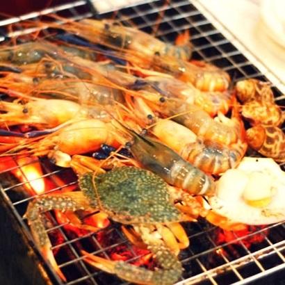 บุฟเฟ่ต์ Seafood BKK