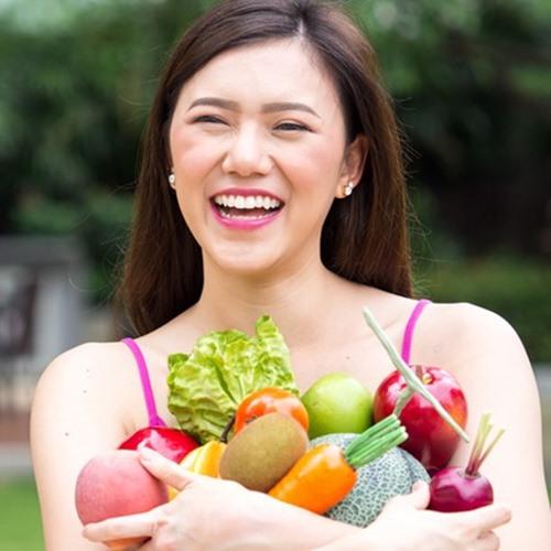 ทานผักและผลไม้ผิวสวยใสมีออร่า
