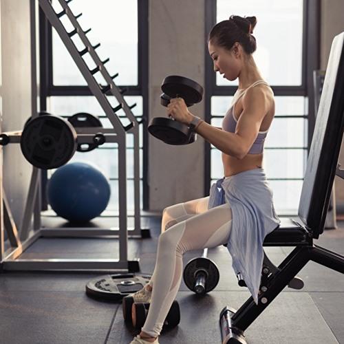 ออกกำลังกายสม่ำเสมอขึ้น